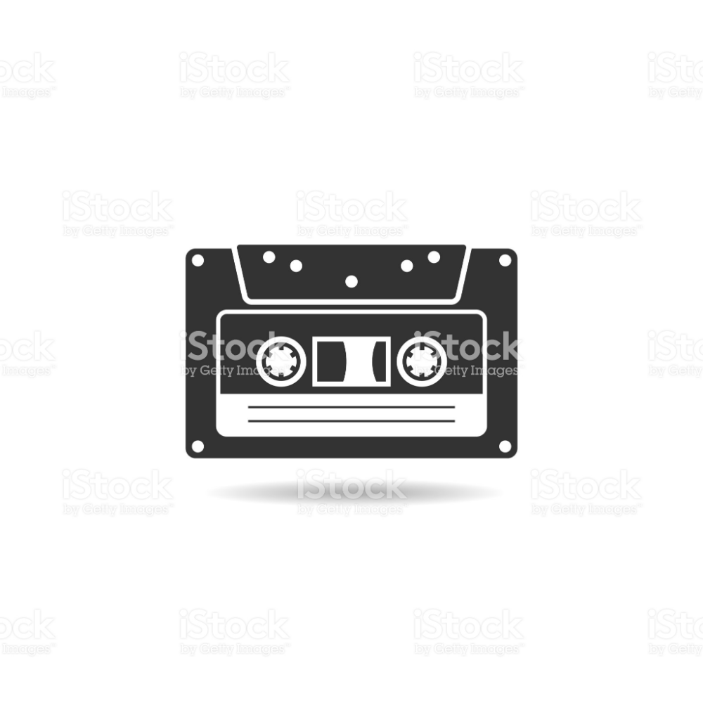 Cassette Icon Flat Vector Isolated On White Background From Music Free Vector Art Vector Vector Art