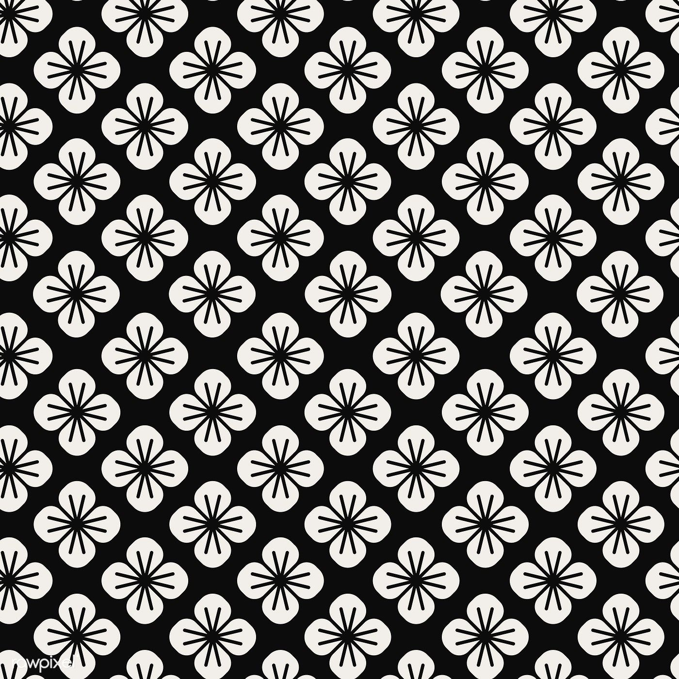 Download Premium Vector Of Seamless Japanese Pattern With Floral