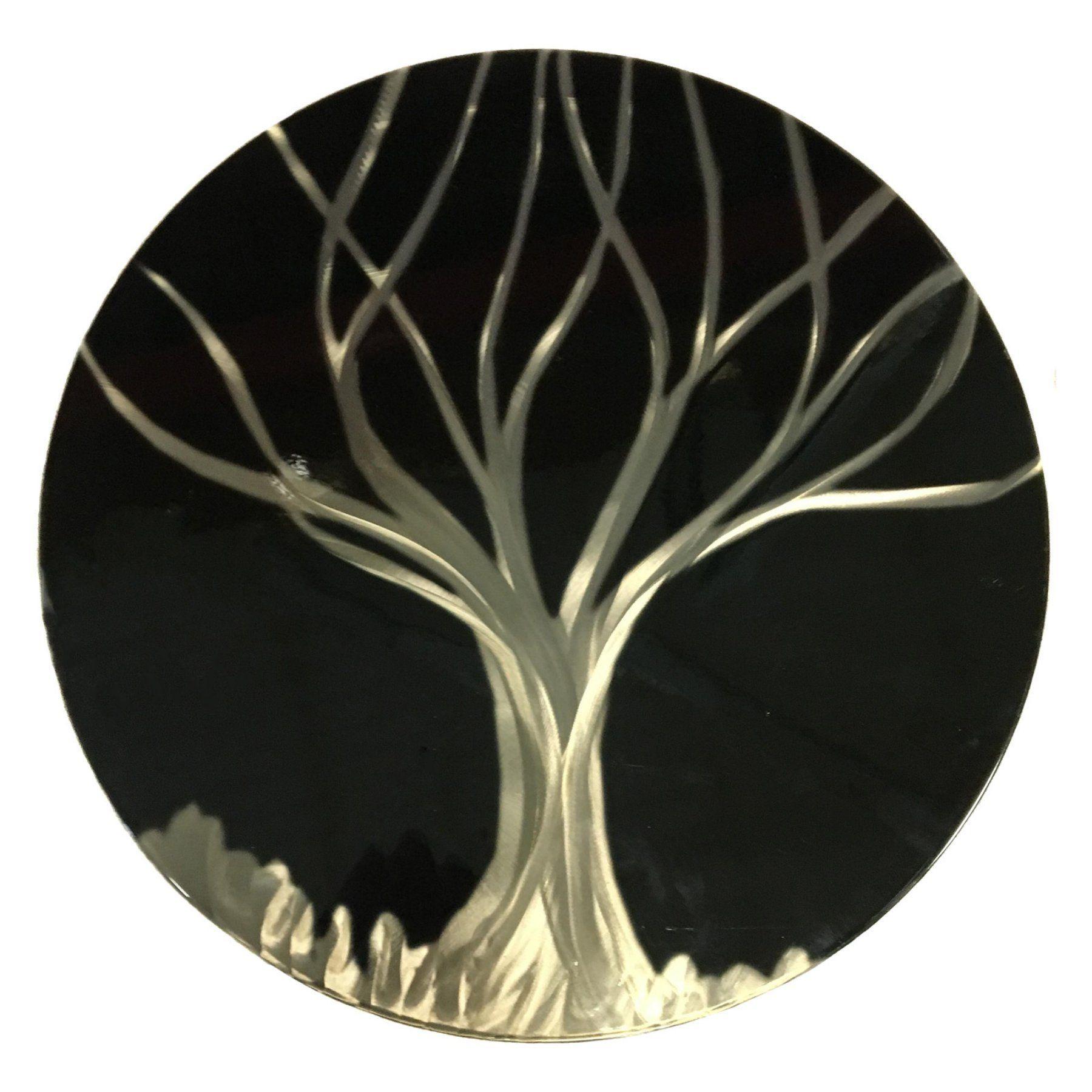 Next Innovations Black Silver Grind Tree Indoor/Outdoor Metal Wall Art - 101409003-BLACKTREE  sc 1 st  Pinterest & Next Innovations Black Silver Grind Tree Indoor/Outdoor Metal Wall ...