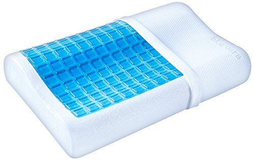 Pharmedoc Cooling Gel Contour Memory Foam Pillow With Rem Https