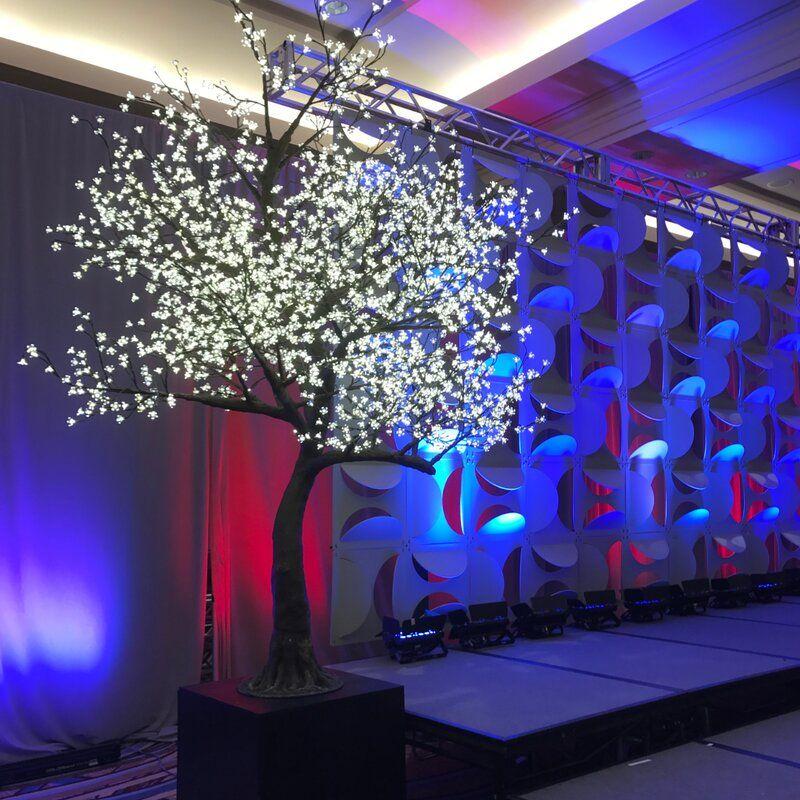 6 Foot Cherry Blossom Tree Clear Cherry Flower Warm White Led Lights In 2021 Cherry Blossom Light Tree Cherry Blossom Tree Blossom Trees