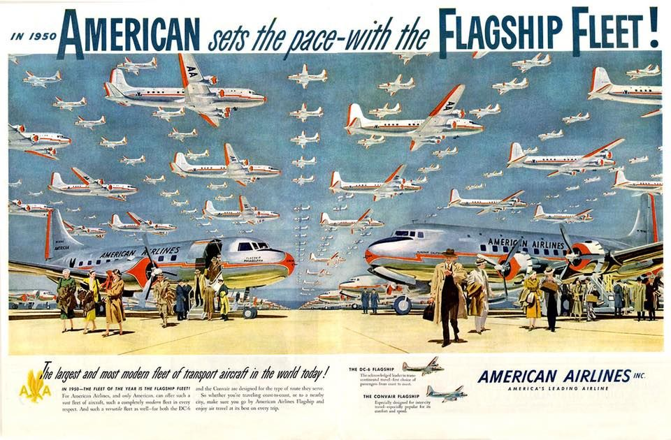 The Flagship Fleet American airlines, Vintage airline