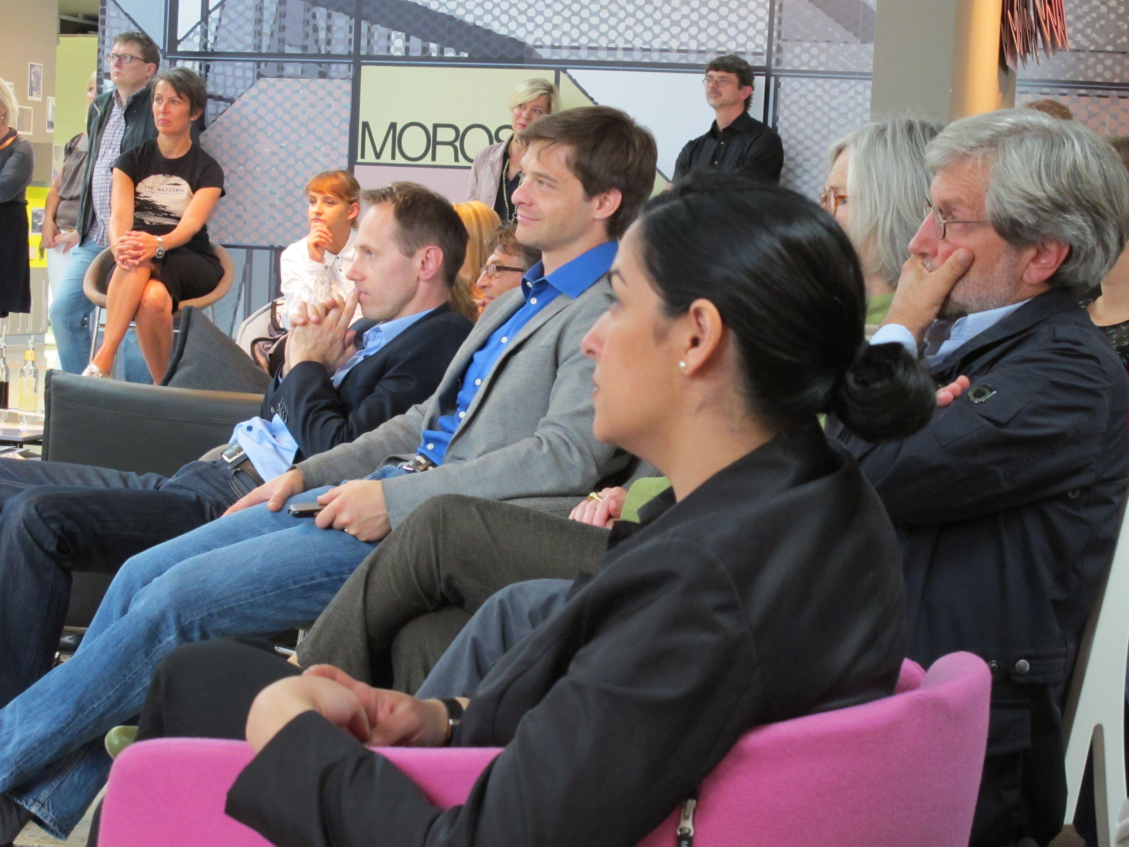 Innenarchitektur Veranstaltungen rahmenprogramm mit vorträ während der veranstaltung