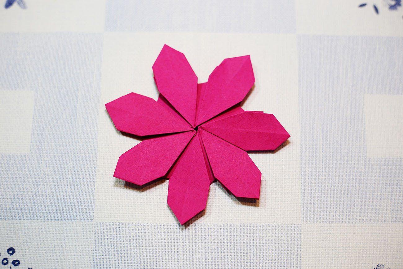 Easy origami flower origami pinterest easy origami flower easy origami flower mightylinksfo