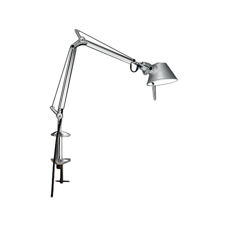 Artemide Tolomeo Micro Led Table Lamp With Clamp In Aluminum Table Lamp Led Lamp Light
