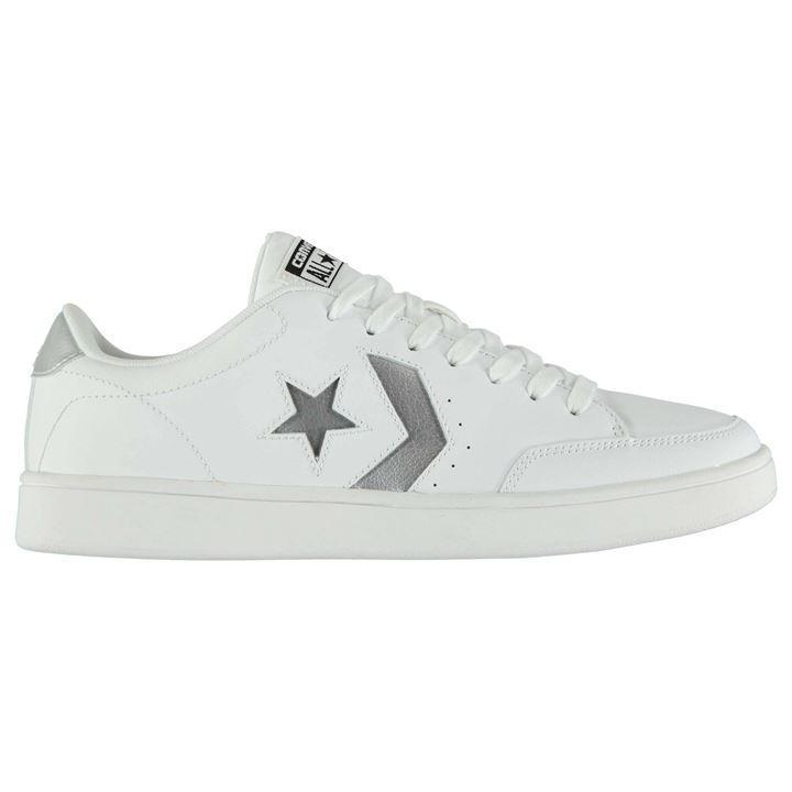 White/Silver - Converse - Star Court