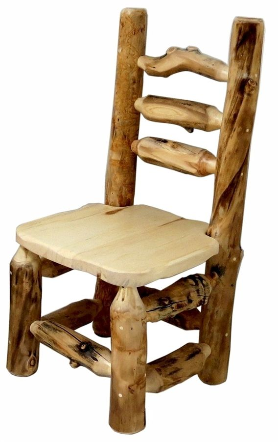 Grizzly Aspen Log Dining Chair Mountainwoods Log Furniture Log Furniture Rustic Log Furniture Timber Furniture