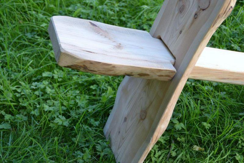 historischer mittelalter stuhl aus massiv holz steckstuhl keilstu in sachsen freiberg ebay. Black Bedroom Furniture Sets. Home Design Ideas