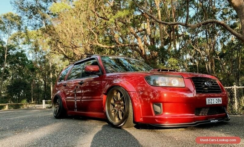Car for Sale 2006 subaru forester xt bagged widebody
