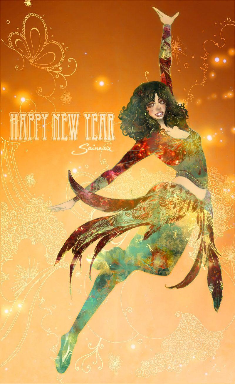 Happy New Year 2014 by Saina6 on DeviantArt