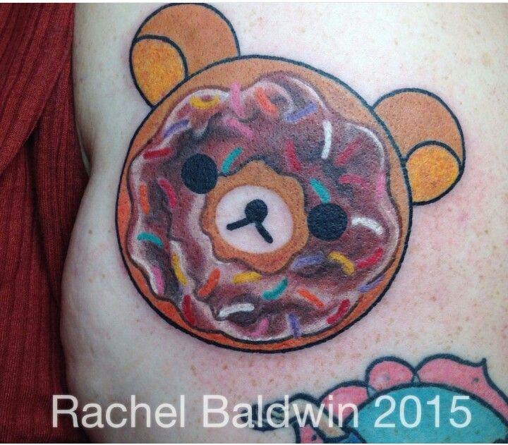 donut bear kawaii tattoo super cute tattoos pinterest kawaii tattoo and tattoo. Black Bedroom Furniture Sets. Home Design Ideas