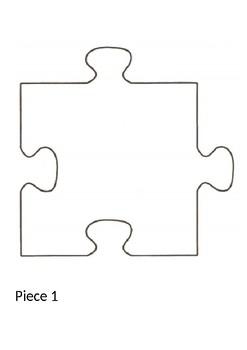 Puzzle Piece Templates In 2021 Puzzle Piece Template Puzzle Piece Art Puzzle Pieces