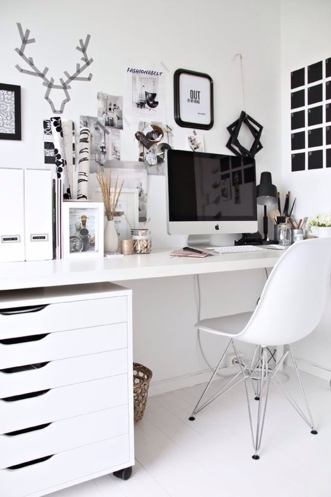 Pin by Jouri on HOME Pinterest Desk areas Office spaces