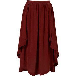 Waterfall Calf Skirt
