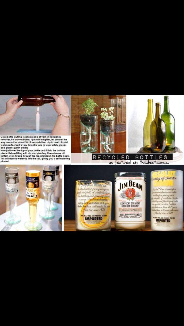 Bottles use ideas