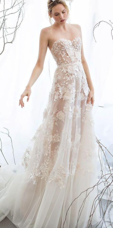 Wedding Dresses 25 11092016 Km Modwedding Aline Wedding Dress Wedding Dresses 2017 Trend Wedding Dresses Strapless