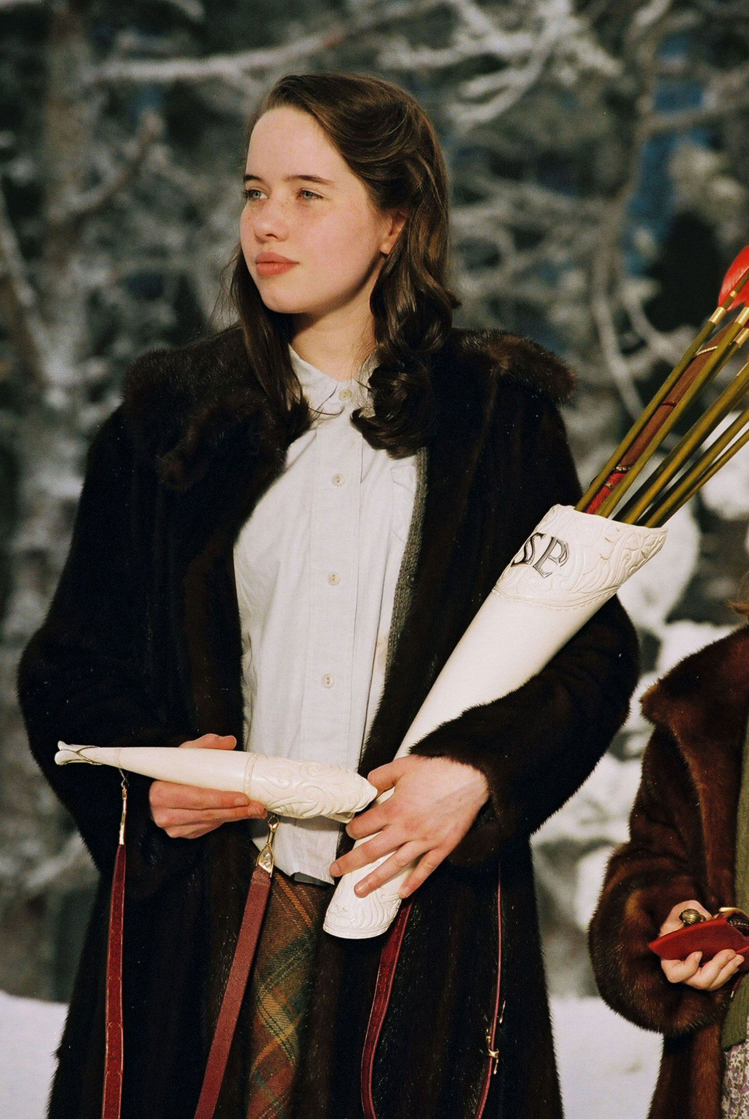Susan Pevensie (Anna Popplewell) in The Chronicles of Narnia: The Lion, the Witch, and the Wardrobe (2005)