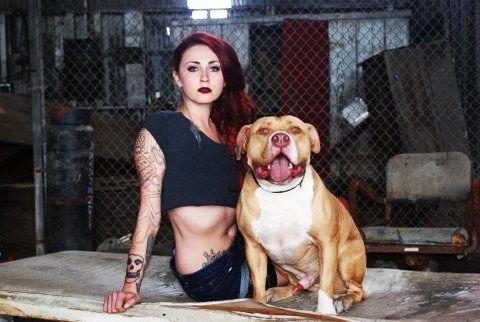 Mariah Harmony Torres I Love This Girls Style And Her Mom Pitbulls Bully Dog Pitbull Dog