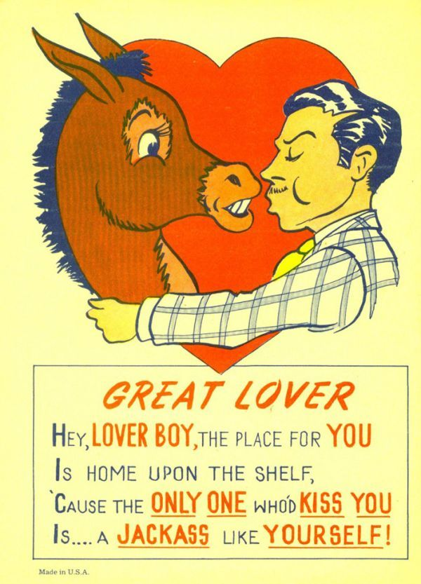 life vinegar valentines of old such cards were aimed at sending a suitor on - Vintage Valentines Cards