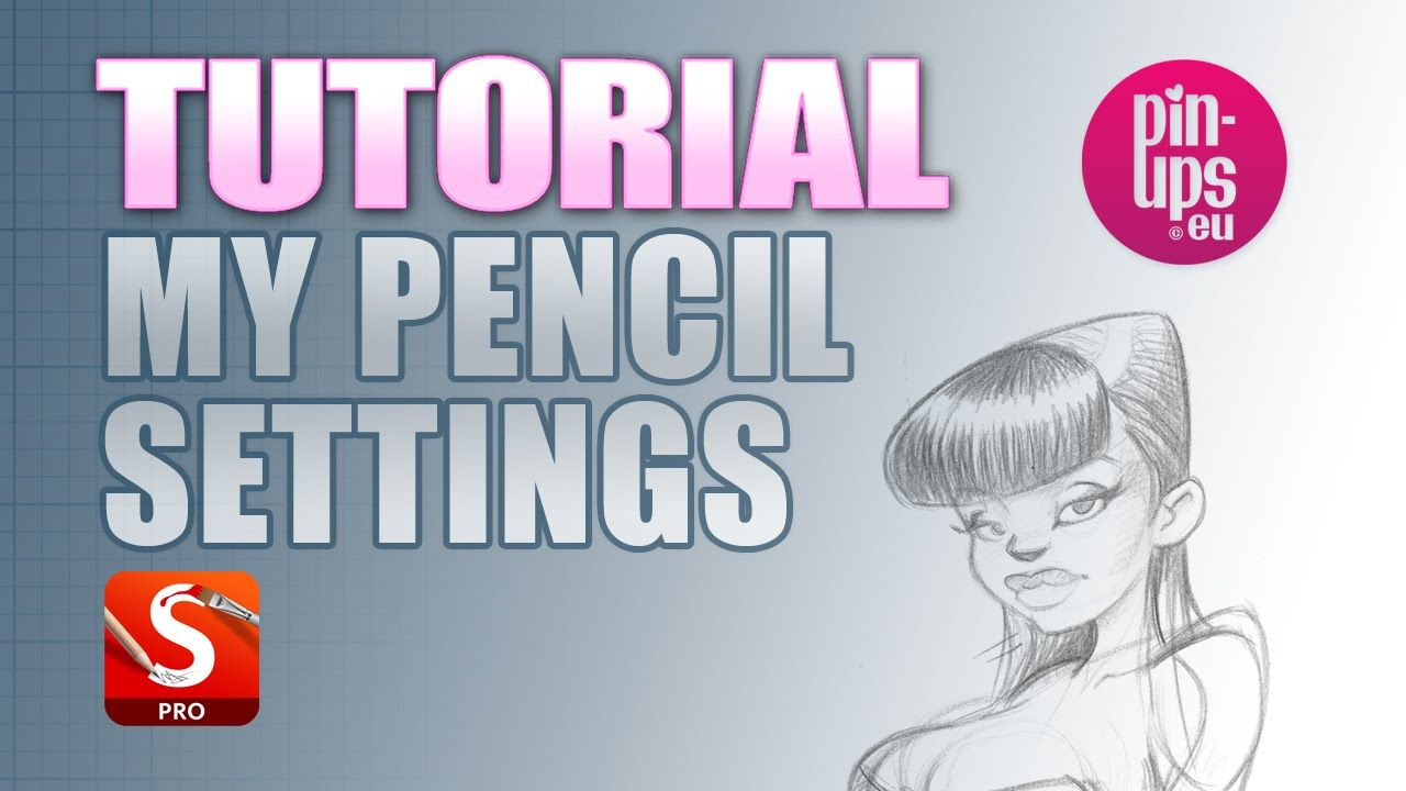 Demonstration Of Setting Up Personal Pencil Settings In Sketchbook