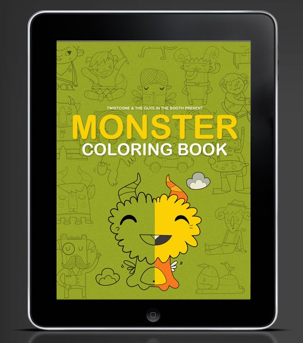 Cool App Coloring Book App Coloring Books Splash Screen