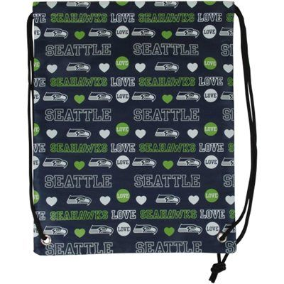 Seattle Seahawks Mural Love Drawstring Backpack