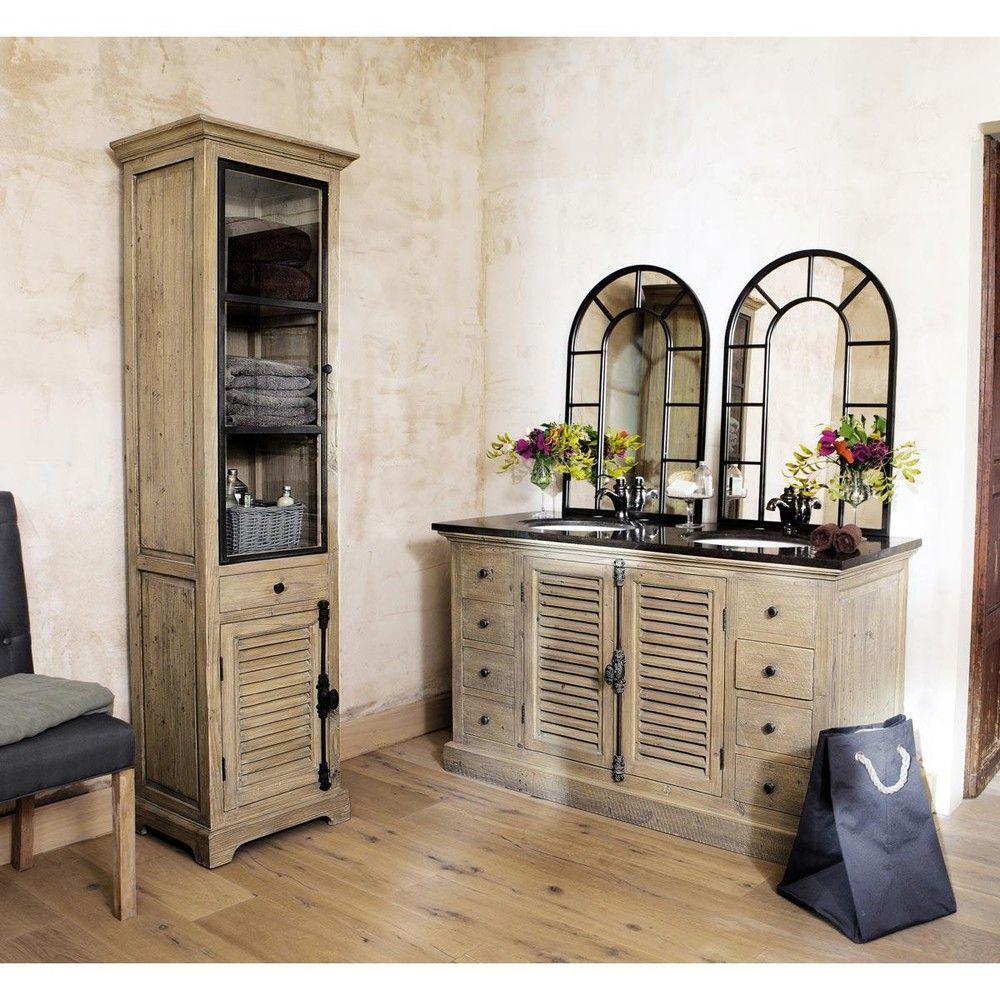magnifiques miroirs industriels dcouvrir with miroir industriel maison du monde. Black Bedroom Furniture Sets. Home Design Ideas