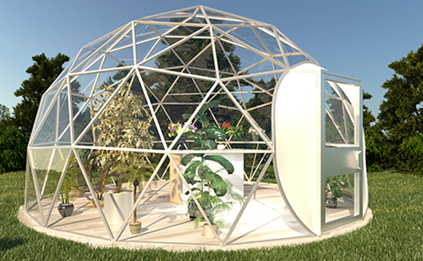 Dome4life Geodesic Domes And Kits For Sale Greenhouses Canada In 2020 Greenhouse Geodesic Dome Greenhouse Traditional Greenhouses