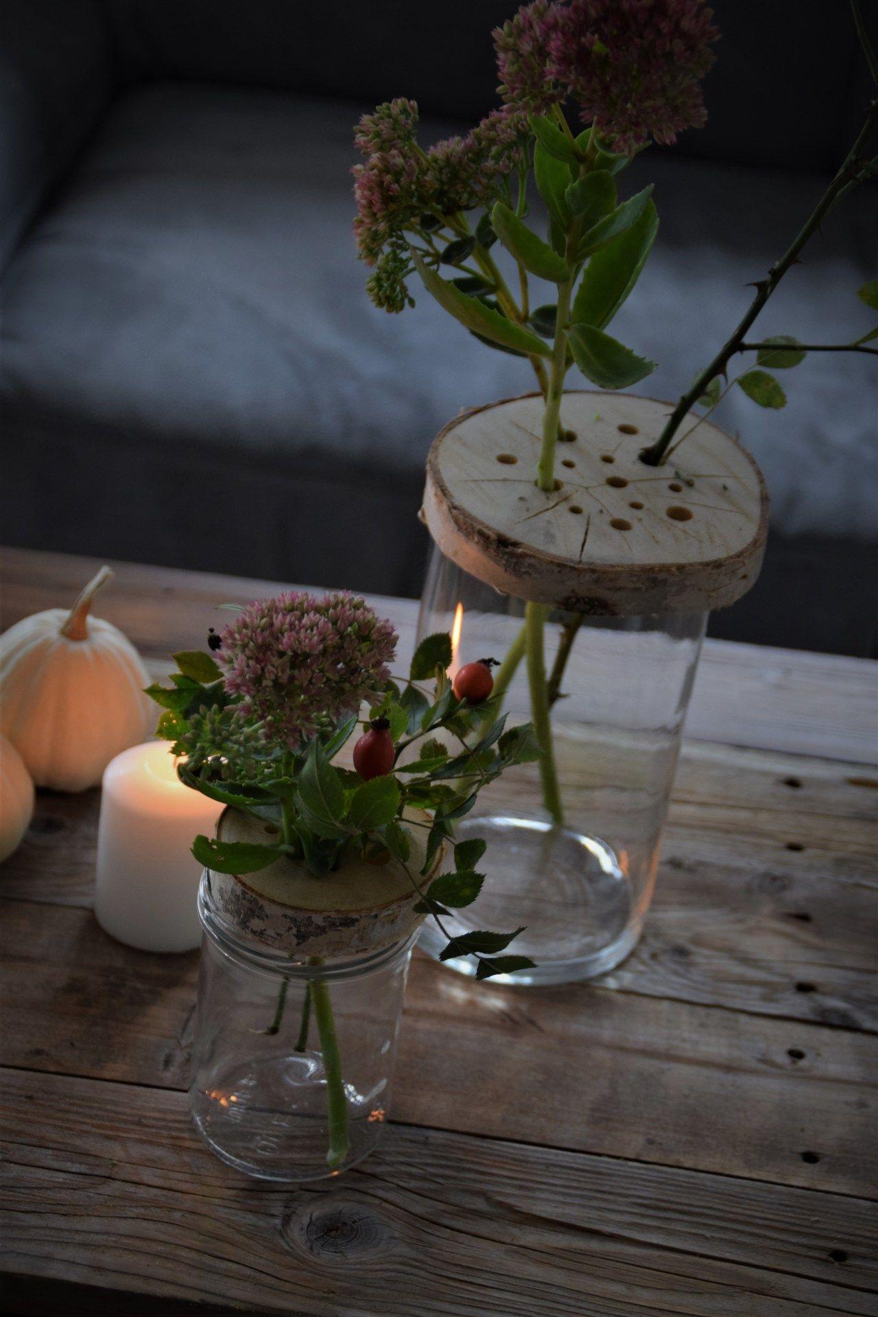 Kleiner Helfer für die Vase