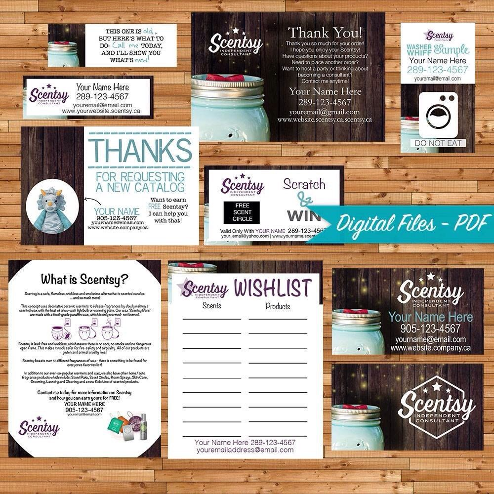 Authorized Scentsy Vendor Bundle - Independent Consultant - Custom ...