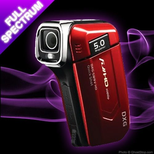 Full Spectrum HD Camcorder   check back later      Full