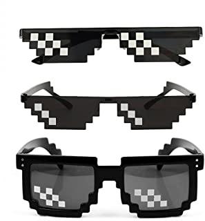 Amazon Com Pixelated Sunglasses Unisex Glasses Thug Life Sunglasses