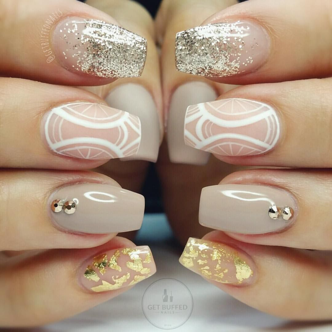 Instagram Photo By Sarah Dec 15 2015 At 10 37pm Utc Buff Nails Hair And Nails Nails Inspiration