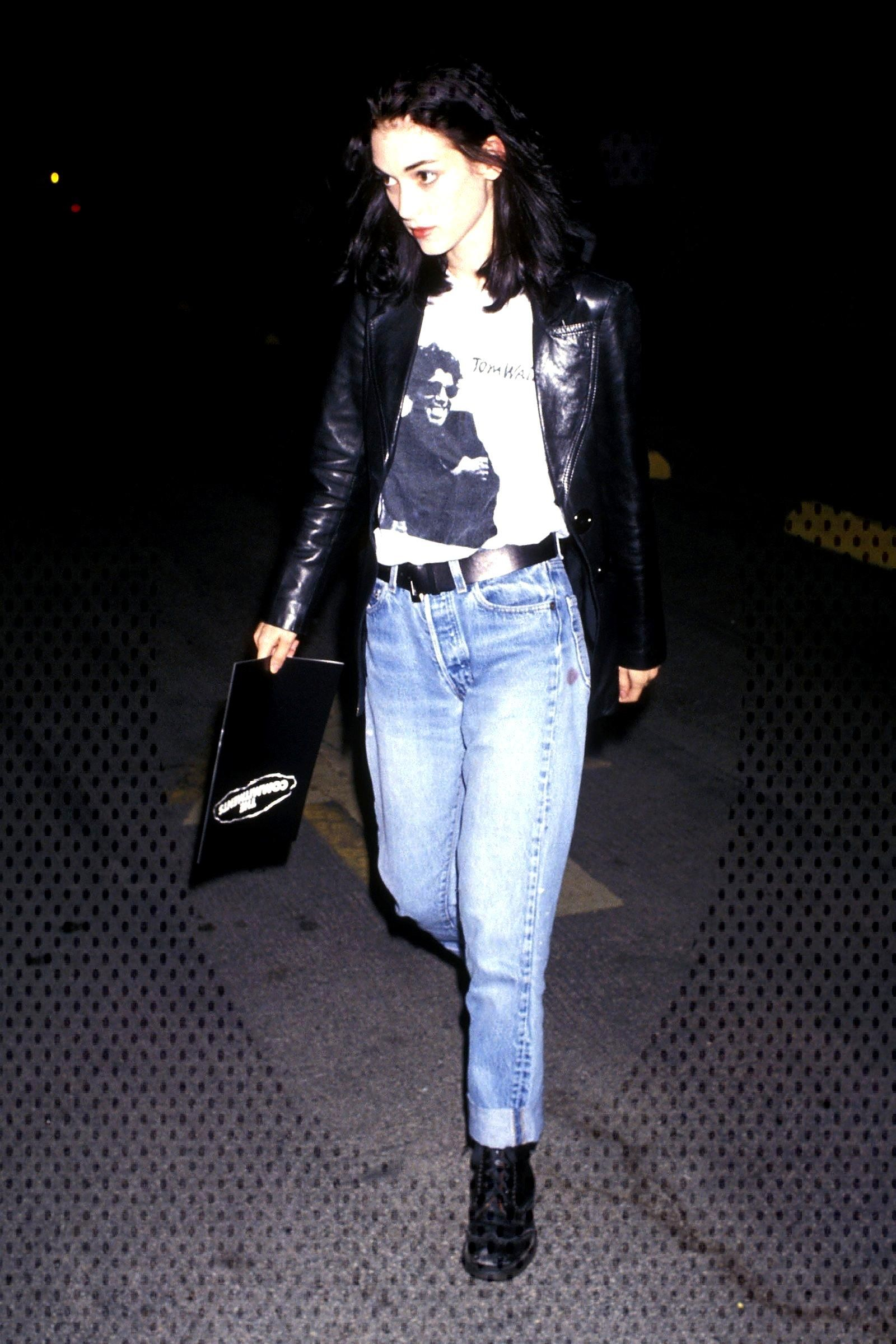 90s Style Icons Winona Ryder Drew Barrymore Natalie Portman and More  GlamourYou can find Styl
