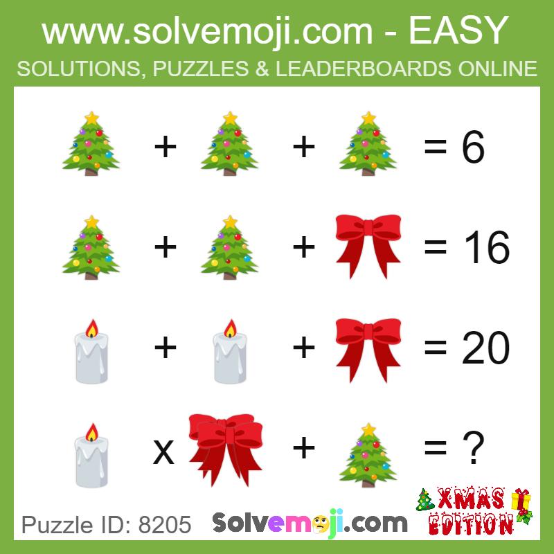 Puzzle Model Puzzle Puzzleid Math Logic Puzzles Maths Puzzles Emoji Math