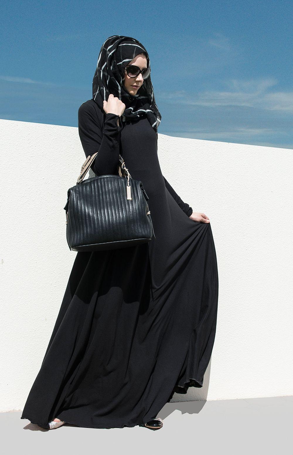 9cfcca24745bf Totally Me :) Mulberry Black | Aab | Abaya ideas | Hijab fashion ...