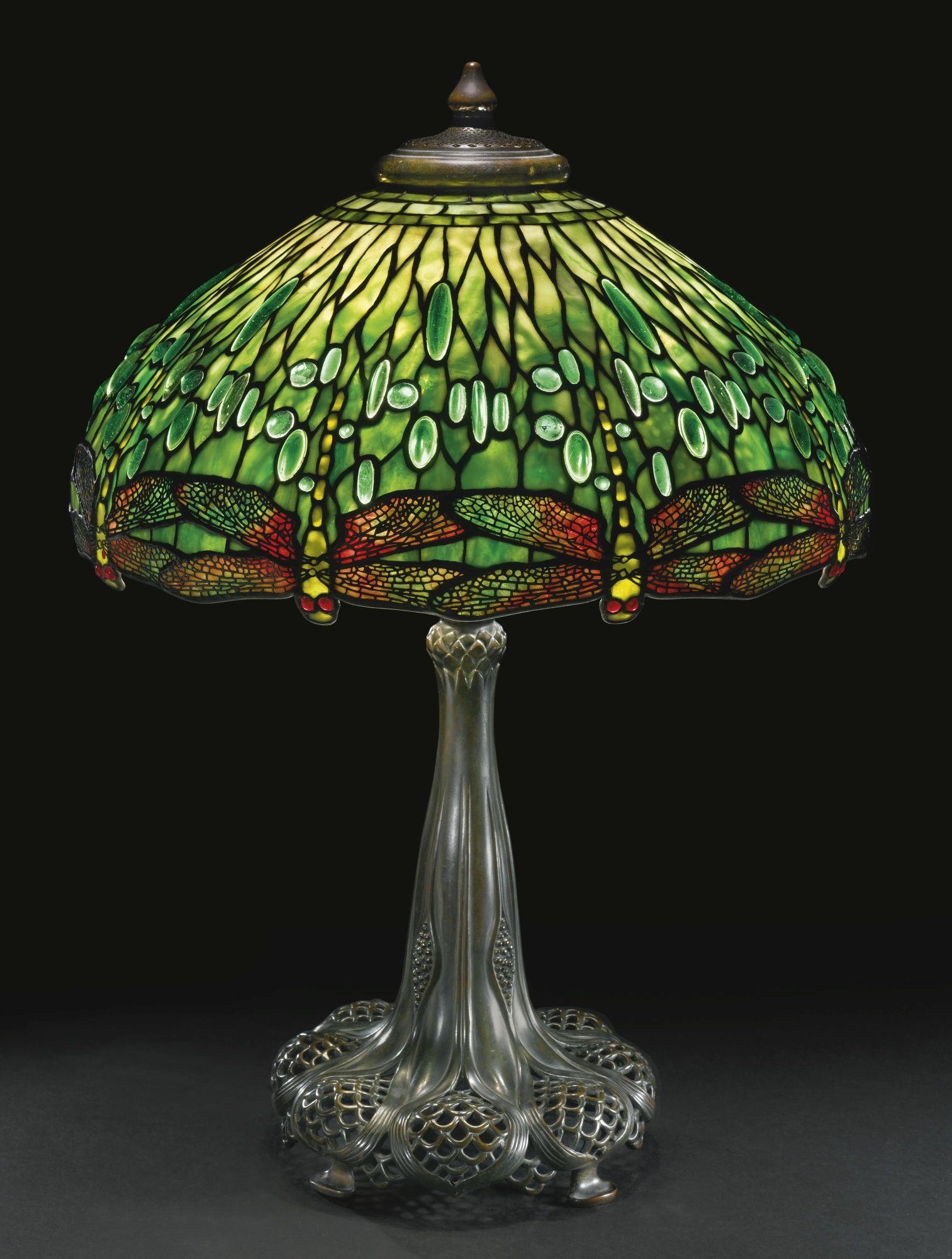 Lampara Tiffany Libelula Lampara De Libelulas Louis Comfort Tiffany Antiques En 2019