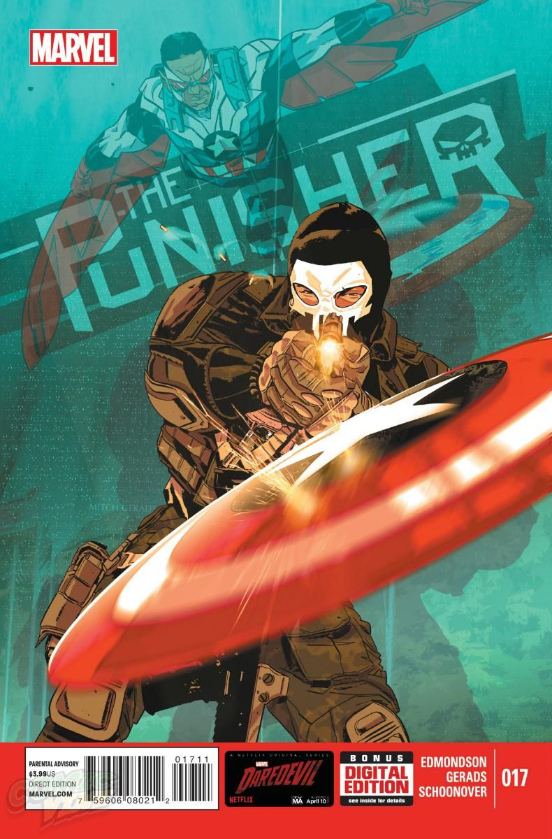Punisher #17, la preview