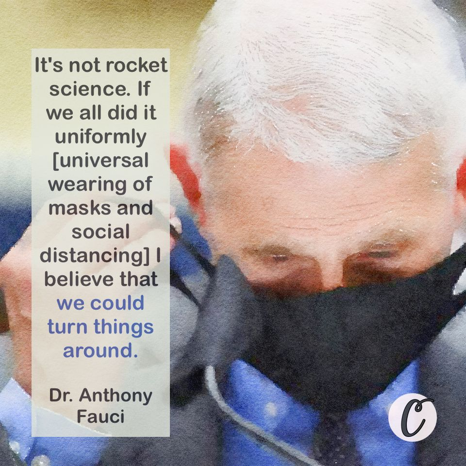 Dr Anthony Fauci Smart Quotes Seriously Funny Great Minds Think Alike