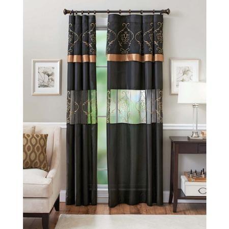 Better Homes And Gardens Prisma Curtain Panel Walmart Com