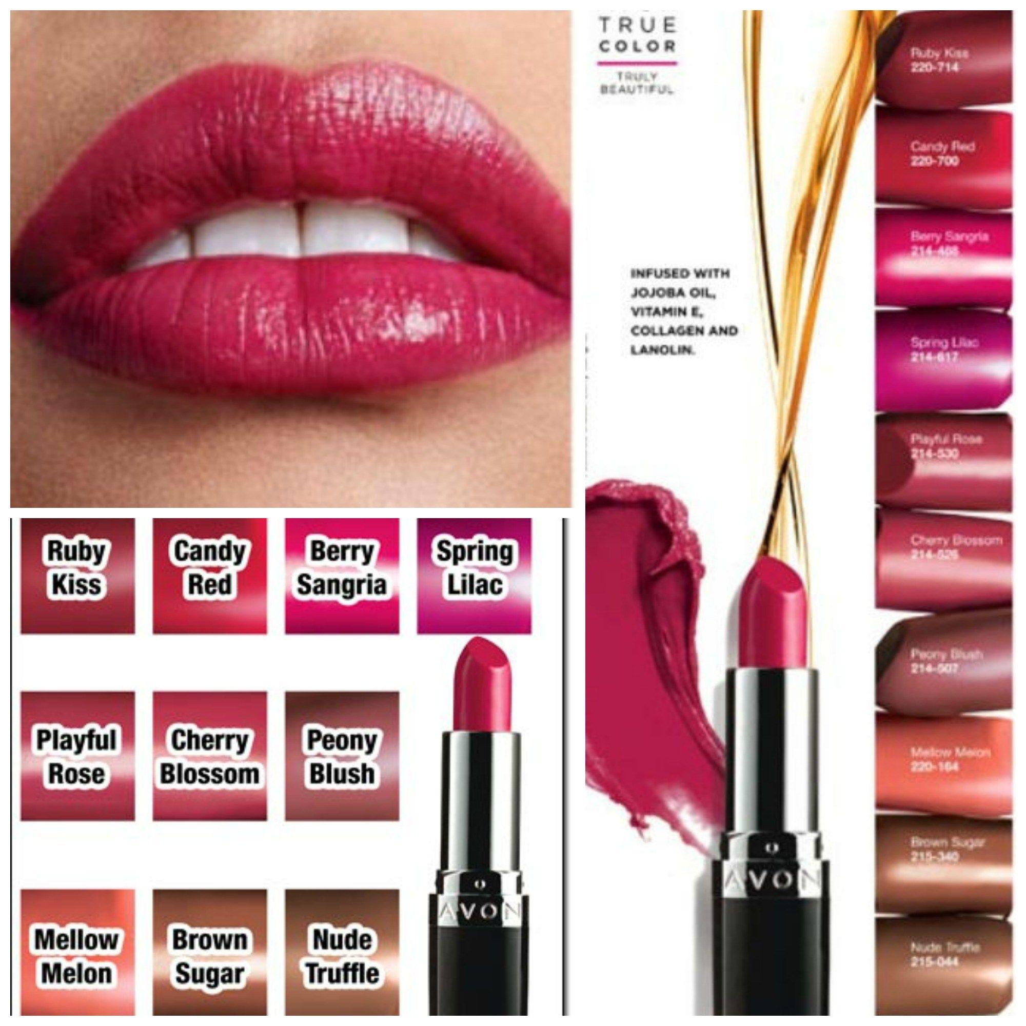 Avon True Color Nourishing Lipstick Avon True
