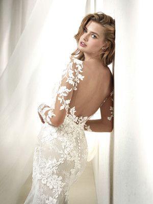vestido de novia sirena efecto tatuaje | matrimonio | pinterest