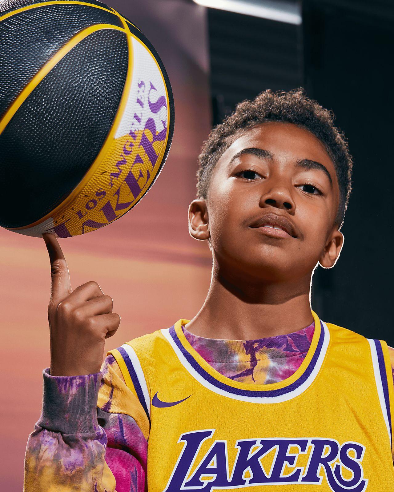 93d375145e1b Nike Lebron James Icon Edition Swingman Jersey (Los Angeles Lakers) Men s  Nba Connected - 2Xl (56)