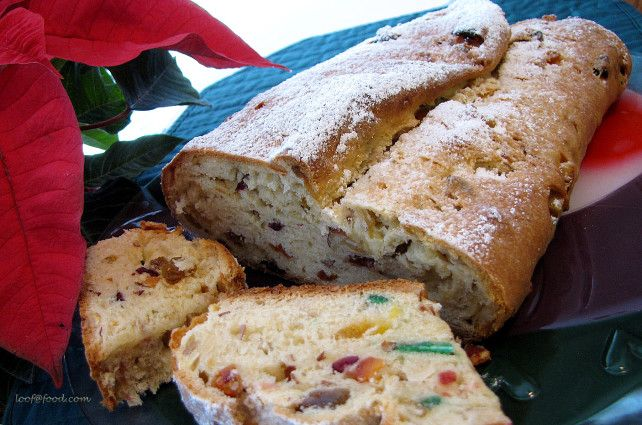 Christmas Stollen Recipe Sweet bread, Thanksgiving and Dishes