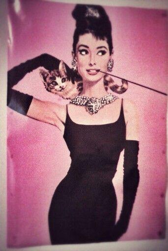 Audrey Hepburn Poster (edited).