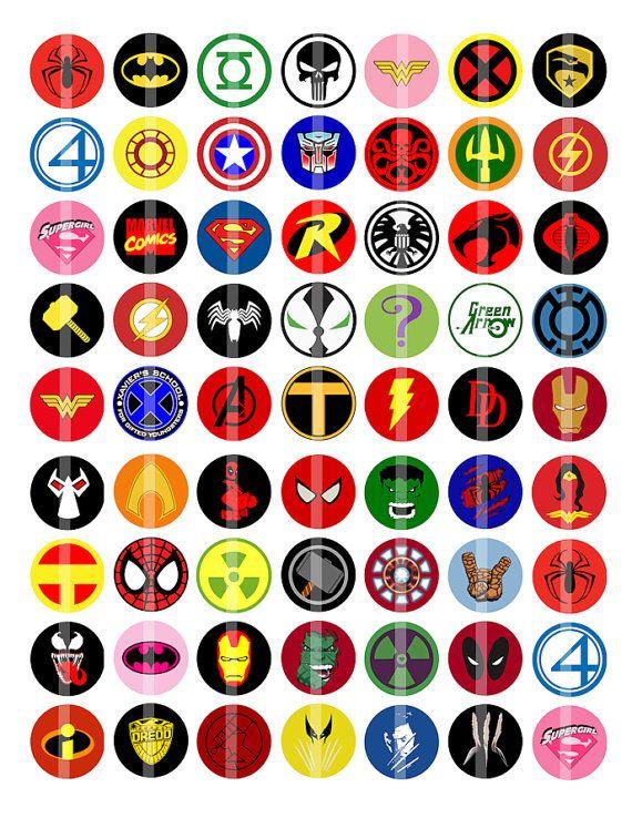 all superheroes logos wwwpixsharkcom images
