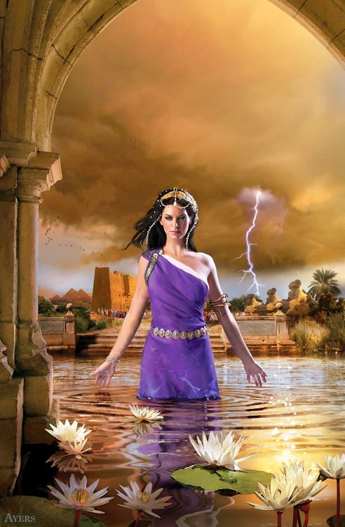Cleopatra Selene, hija de Cleopatra y Marco Antonio. Hermana melliza de Alexander Helios.