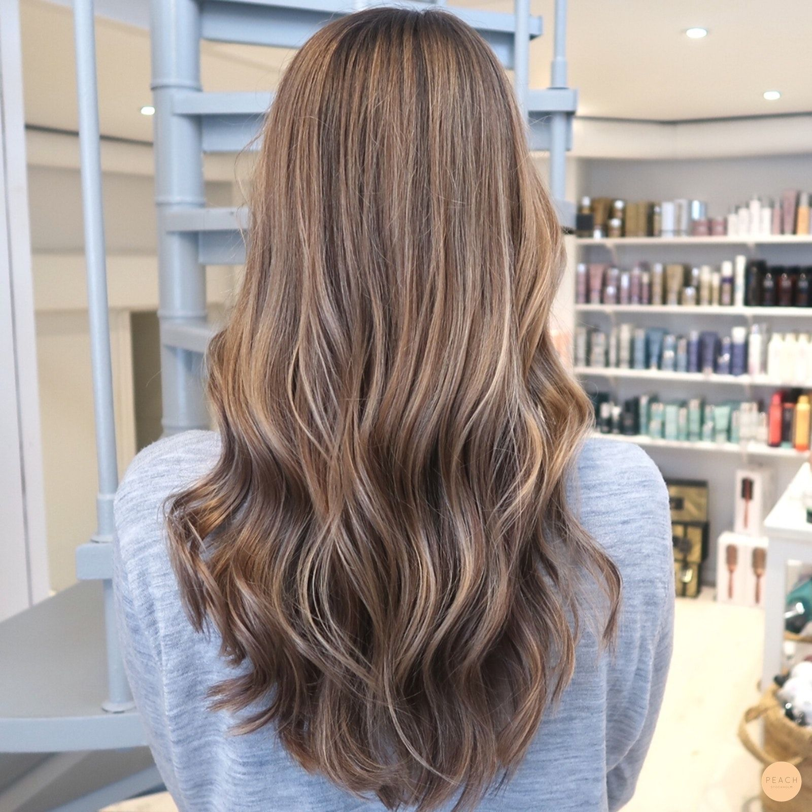 ljusbrun hårfärg hemma