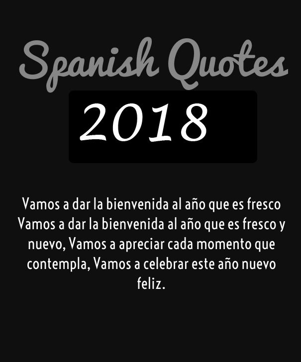 greetings in spanish 2018 greetings in spanish 2018 happy new year quotes