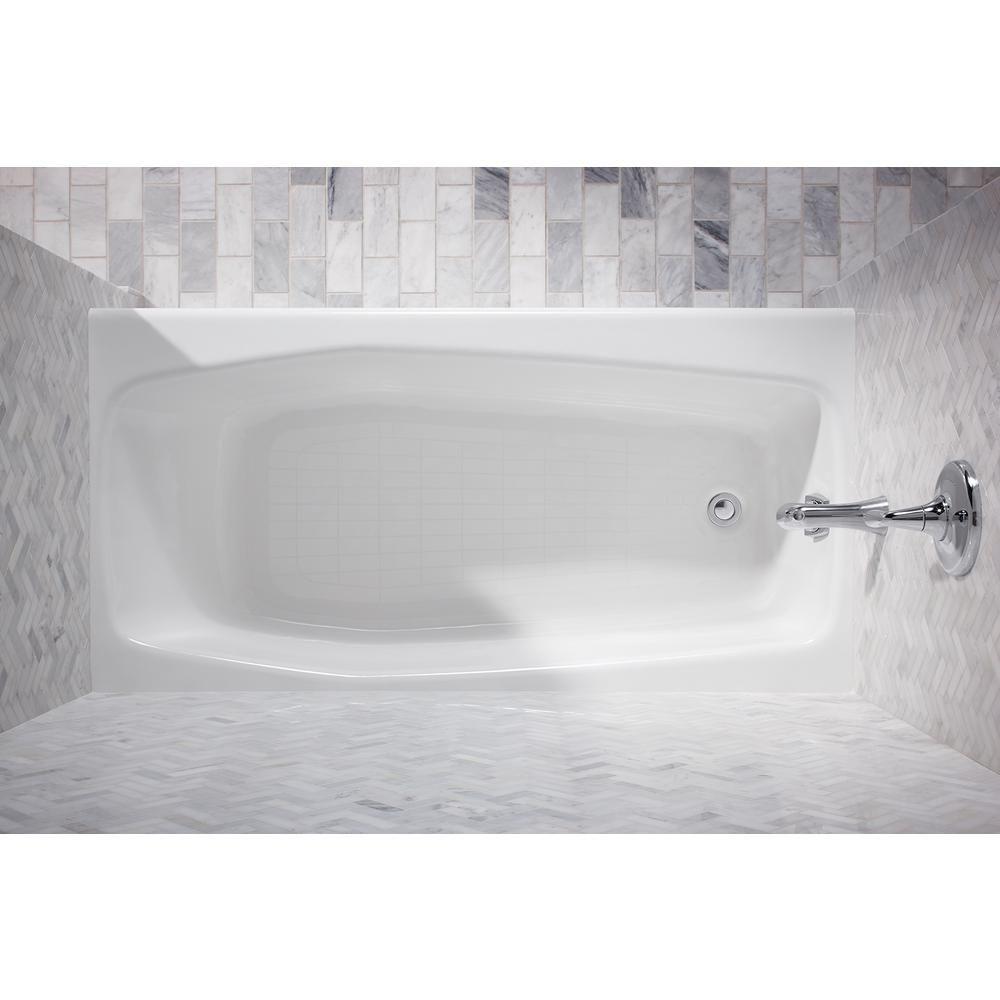 Kohler Villager 60 In Left Hand Drain Rectangular Alcove Bathtub